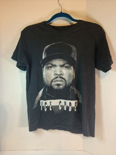 Ice Cube black t shirt Small Rap (See Notes)