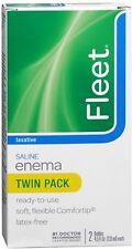 Fleet Saline Enema Twin Pack 9 oz (Pack of 6)