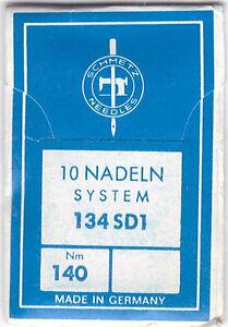 Industrienadel<wbr/>n, Nadeln Schmetz 134 SD 1 / Stärke 140
