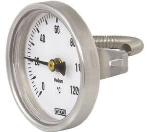 Wika Riscaldamento Termometro A Contatto O 63mm 120 C Molla Termometro Tubo Bimetallico Ebay Savesave termometro wika for later. ebay
