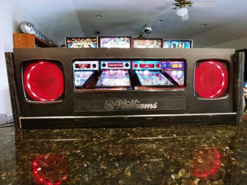 Attack from Mars pinball 1995 Lighted Speakers for original game speakers WPC-95
