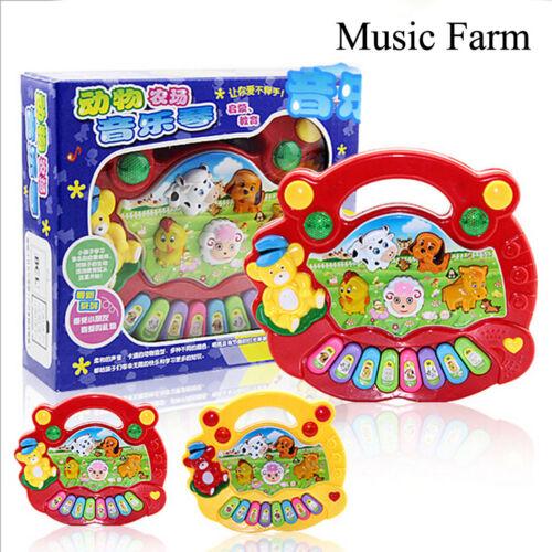 Musical Instrument Piano Animal Farm Educational Intelligence Baby Kids Toys