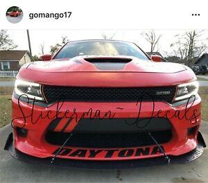 Charger Daytona 392 >> Details About Dodge Charger Daytona 392 2015 2019 Front Bumper Decal