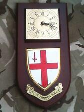 City of London Police Constabulary Wall Plaque & Clock