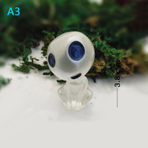Cartoon alien small cute toys luminous elves tree doll figurinJB