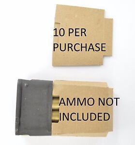 10X M1 Garand USGI 8RD enbloc clips cardboard Inserts Silencers Bandolier