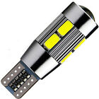 T10 Red 194 W5W 5630 LED 10 SMD CANBUS ERROR FREE Car Side Wedge Light Bulb