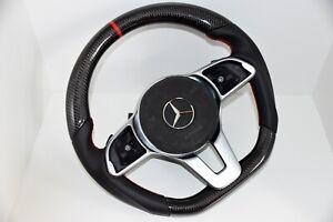 Mercedes-Benz-Lenkrad-Carbon-Sportlenkrad-W177-C118-W205-C238-W213-W463-W247