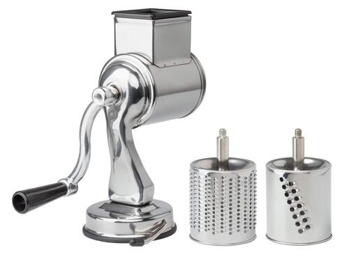 Cheese Grater with Suction-Base and 2 Drums The Italian Market Original