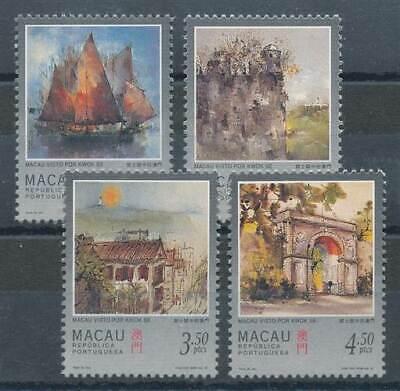 Schlussverkauf 271884 Briefmarken Macau Nr.899-902** Ansichten MöChten Sie Einheimische Chinesische Produkte Kaufen? Asien