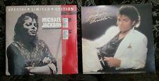 (2) MICHAEL JACKSON LP RECORD LOT THRILLER TODO MI AMOR ERES TU (SEALED)