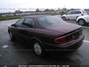 Burgundy 2002 Buick Century Custom 4Dr sedan - Very Low Kms