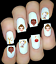 Disney-Personnages-Princesses-ongles-manucure-nail-art-water-decal-sticker miniatuur 1