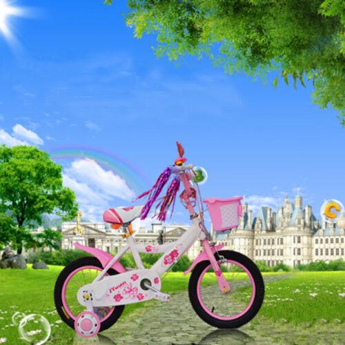 Kids Bicycle Bike Handlebar Scooter Streamers Sparkle Tassel Ribbon 2Pcs #HN8