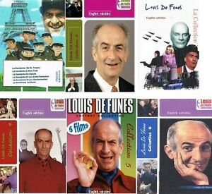 louis de funes 6 dvd collections comedy 35 movies in. Black Bedroom Furniture Sets. Home Design Ideas