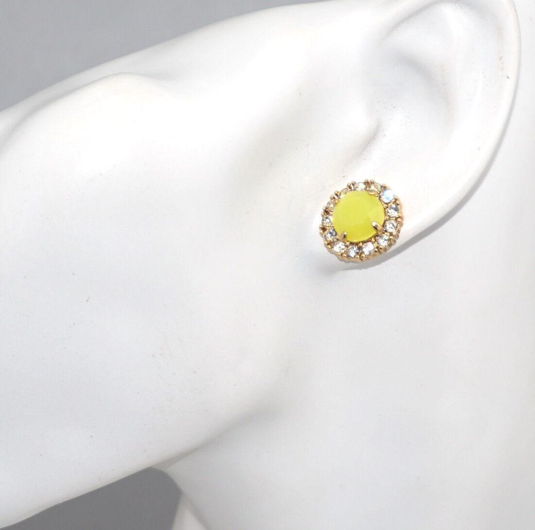 Kate Spade Gold Plate Flo Coral Secret Garden Earrings WBRU7825 New 098686495678
