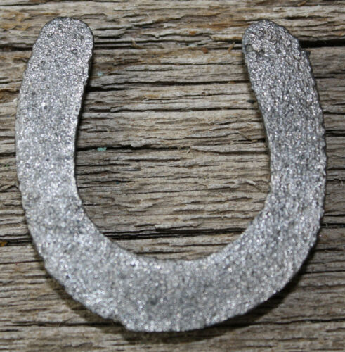 Lot of 6 Tiny Cast Iron Lucky Horseshoes Western Rustic Ranch Home Decor 2X2 IN
