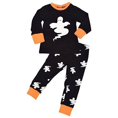 Halloween Ghost Pajama Set Boutique Toddler Kids Clothes  2t 3t Sleepwear Match