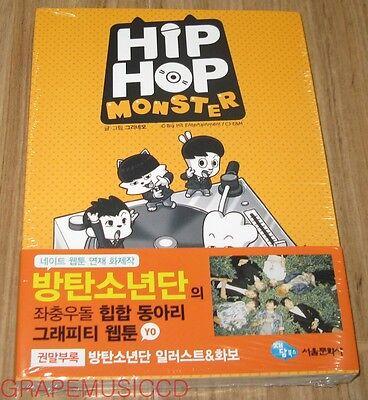 BANGTAN BOYS BTS 방탄소년단 HIPHOP MONSTER NAVER WEBTOON COMIC BOOK SEALED