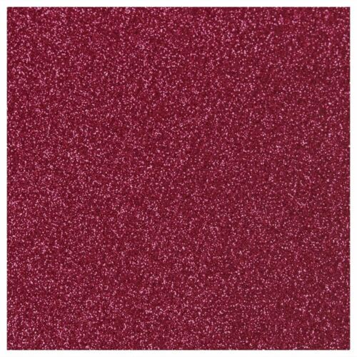 45 Colors Available Siser Glitter Heat Transfer Material 20 in x 1 Foot Sheet