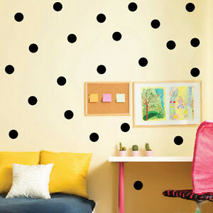 Image Is Loading Fashion Polka Dot Wall Stickers Wall Decal Circle