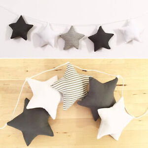 BL-Nordic-5-Stars-Wall-Hanging-Garland-Ornament-Kids-Nursery-Room-Home-Decor-Ey