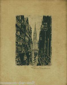 Alter-Stich-original-signiert-gerahmt-Old-original-engraving-signed-framed