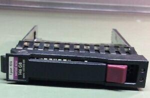 Qualifié 3 X Genuine Hp 146 Go 1 Port 10k Serial Scsi Disque Dur Caddy (432320-001)-afficher Le Titre D'origine Remises Vente