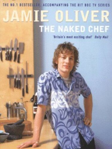 1 of 1 - The naked chef by Jamie Oliver (Paperback)