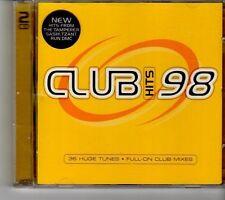 (FH609) Club Hits 98, 2CD  - 1998 CD