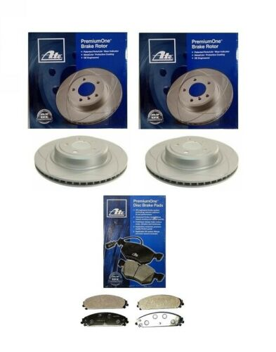 PADS 2 X ATE PremiumOne FRONT BRAKE DISC 345mm CHRYSLER 300C 05-18 5.7L HEMI