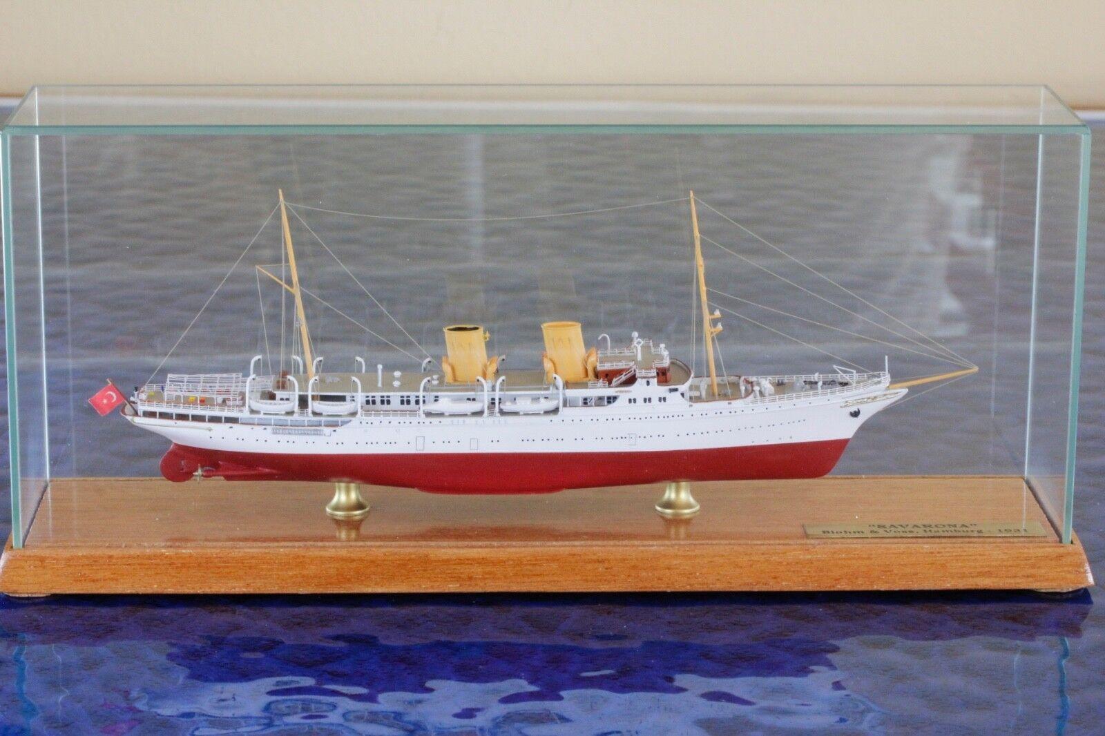Savarona emballage d'origine Fabricant CSC 7005vr 1 1700, 1 1250 vaisseau Modèle