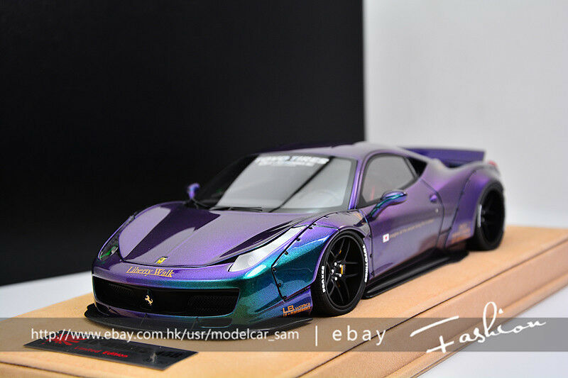 1 18 Ferrari 458 Liberty Lb Walk