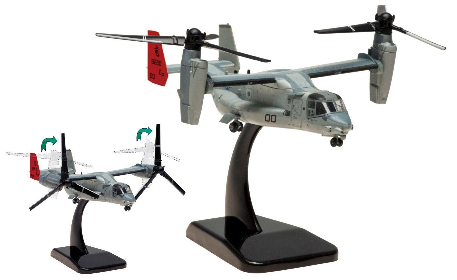Hogan 1 200 mv-22b Osprey, kipprojoor-avión, US Marines, stand modelo, embalaje original, nuevo