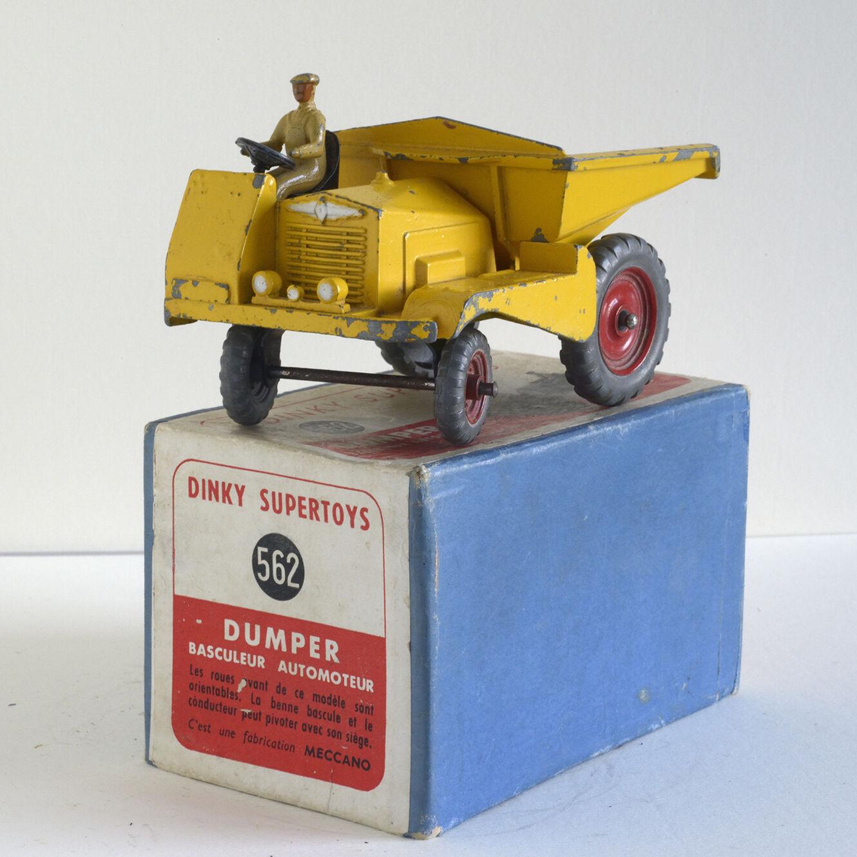 Dinky Toys original - Muir Hill Dulper GB 562 - BE EU (boîte b)