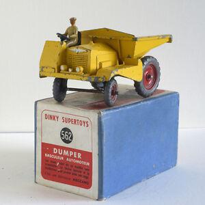 Dinky Toys Original - Muir Hill Dulper Gb 562 Be/eu (boîte B)