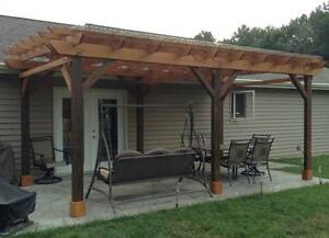 Covered Pergola Plans Design Diy How To Build 12 X24 Step By