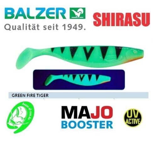 "Balzer Shirasu /""MaJo Booster/"" 10//13//17cm Shad Gummifisch Hecht Zander Barsch TOP"