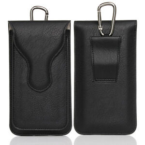 """Leather Bag Climbing Case For iPhone 7 Samsung Huawei Redmi LG 5.1 5.5"""" Pockets"""