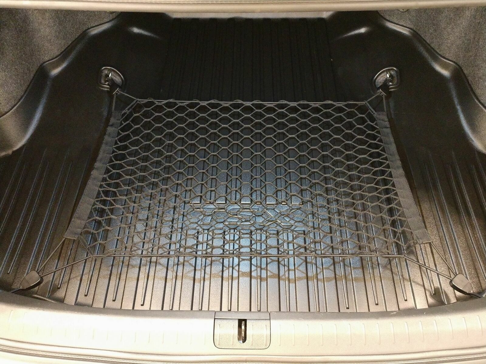 Rear Trunk Floor Cargo Net Mesh Luggage Elastic Hook Flat For Acuar TSX Sedan