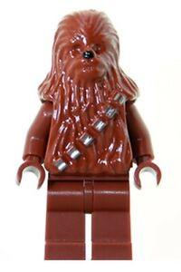 Lego Star Wars Minifigure Chewbacca #4504 7260 8038 9516 10188 CH88