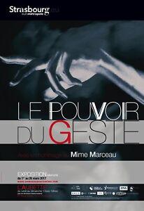 Affiche-de-collection-MIME-Exposition-Le-Pouvoir-du-Geste-Annee-2017