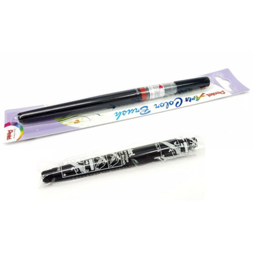 1pc Pentel Arts XGFL-101 Fude Color Brush Pen Xmas ,FR-101 Brush Refill-Black