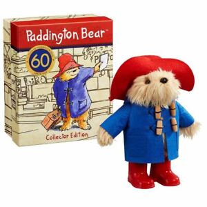Paddington-Bear-60th-Anniversary-Collectors-Edition-Plush-Soft-Toy-Boxed-Retro