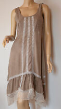 Cream verspieltes Sommerkleid Mod.Linga Dress Spitze u.Volants Gr.34-Neu