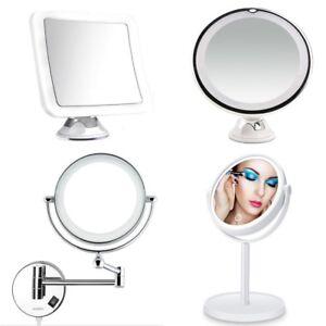 Beauty & Gesundheit Konstruktiv Design Rasier Kosmetik Led Schmink Spiegel 5,7 Oder 10 Fach 360` Saugnapf Stand Enthaarung & Rasur