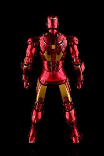 Ezhobi Toys Hyper Gokin Homme de fer Mark Iii 3 Dommages au combat 1/10 Figurine avec base 4712831480017