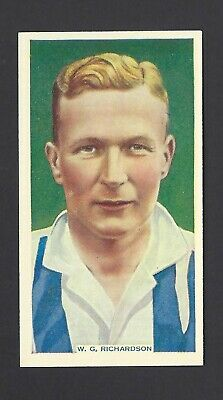 WEST BROM WBA PHILLIPS-SOCCER STARS FOOTBALL-#41 W G RICHARDSON