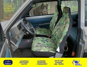 Seat fiat panda 4x4 from 1986 to 2003 set fabric covers car 4