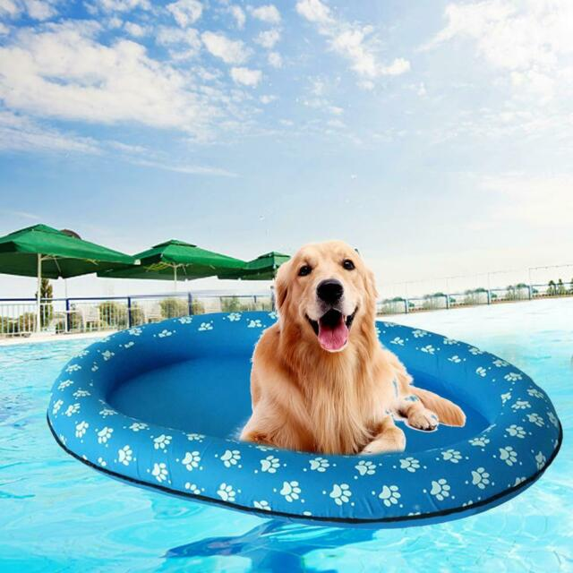 Dog Pool Float Swimming Large Raft Pet Summer Toy Water Training Tool  Inflatable